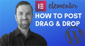 Web Design – How to add a post with Elementor